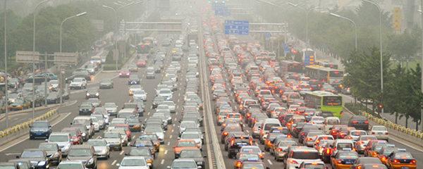 contaminación vehículos